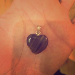 Jewelry - Tiger eye heart pendant 🖤